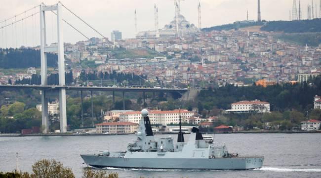 Son dakika... İngiliz savaş gemisi Karadeniz'e gitti