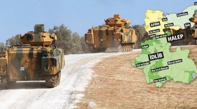 Türkiye İdlib'e 8 üs kuracak