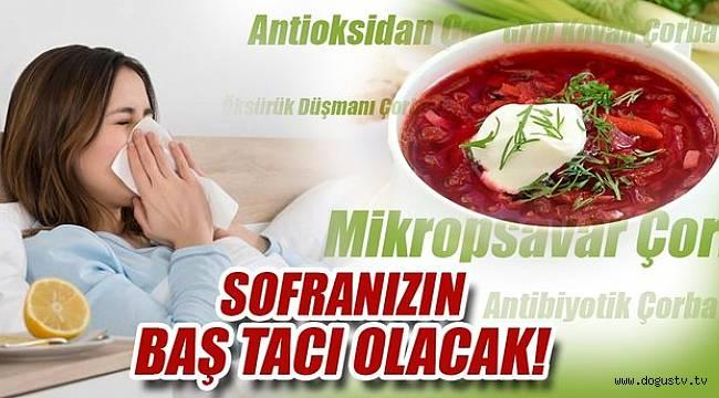 Bu çorbalarla gripten korunmak mümkün!