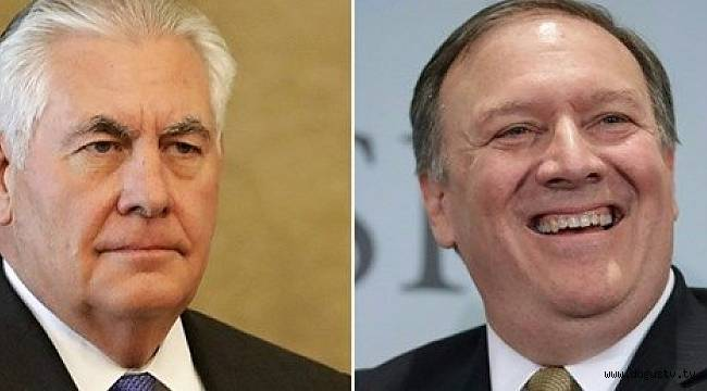 Son dakika haberi...ABD Dışişleri Bakanı Tillerson görevden alındı, yerine CIA Başkanı Pompeo geldi