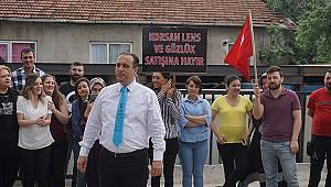 Korsan lense karşı Ankara'ya yürüyor