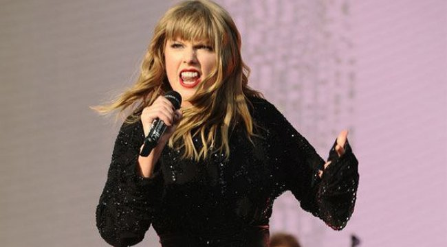 Taylor Swift'e tam not