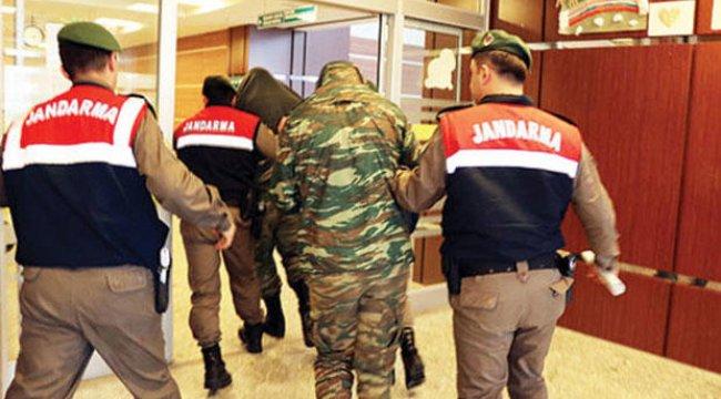 Edirne'de yakalanan Yunan askerleri için tutukluluğa devam kararı