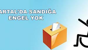 KARTAL'DA SANDIĞA ENGEL YOK