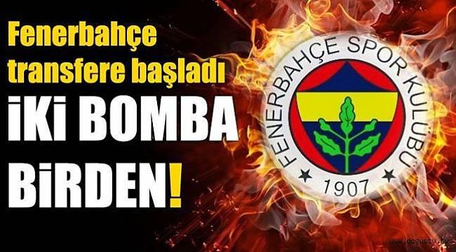 Barış Alıcı ve Berke Özer Fenerbahçe'de