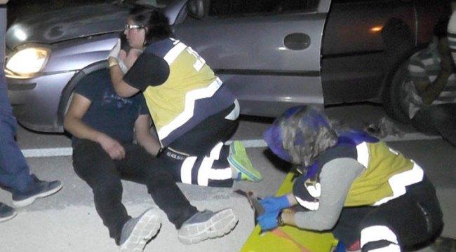 Hemşire yaralıyı görünce hemen sarıldı!