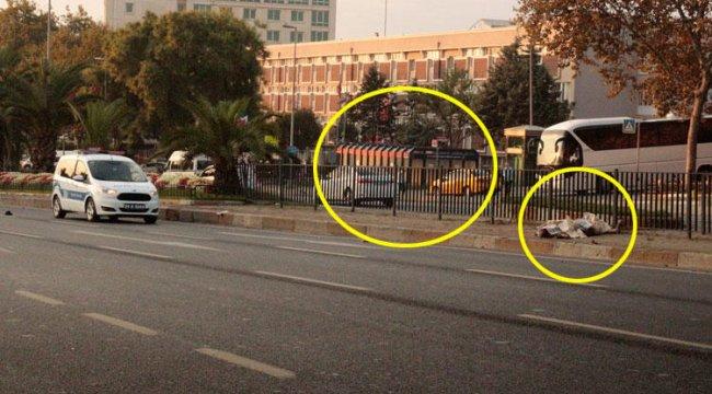 İstanbul'da ibret alınacak kaza: 1 ölü