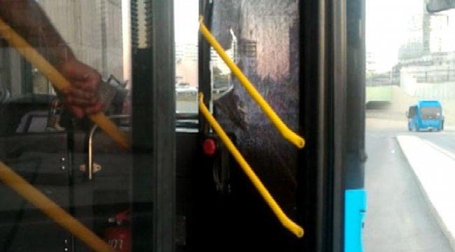 Otobüs kartı geri gelmedi ortalığı birbirine kattı