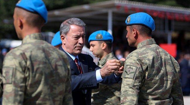 Bakan Akar: 'Terörle mücadele devam ediyor'
