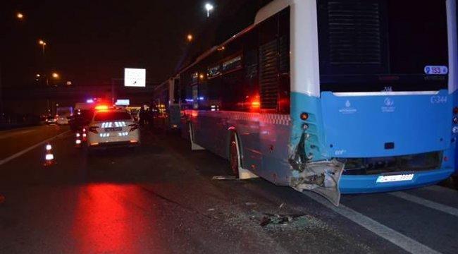 E-5'te feci kaza: Bir kişi öldü