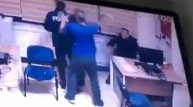Karakolda dehşet! Polisler neye uğradığını şaşırdı…