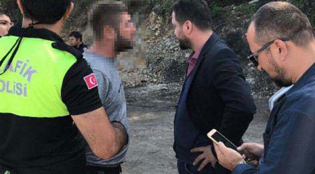 Polise yakalanınca böyle dedi: 'Ben aslında anlayışlı bir insanım...'