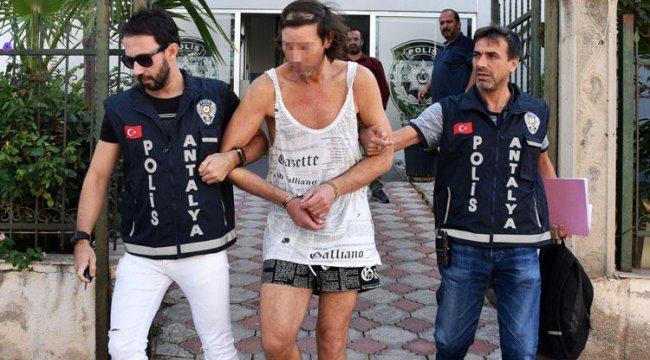 Yer Antalya... 'Açlıktan ölecektim bu yüzden villada yiyip, içtim'