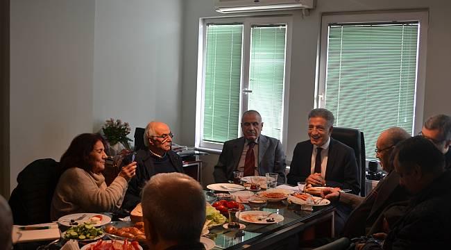 Ercan Güvenç Basın Mensuplarına Projelerini Anlattı...