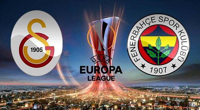 Avrupa Liginde Fenerbahçe ve Galatasaray'ın Rakipleri Bugün Belli Olacak!