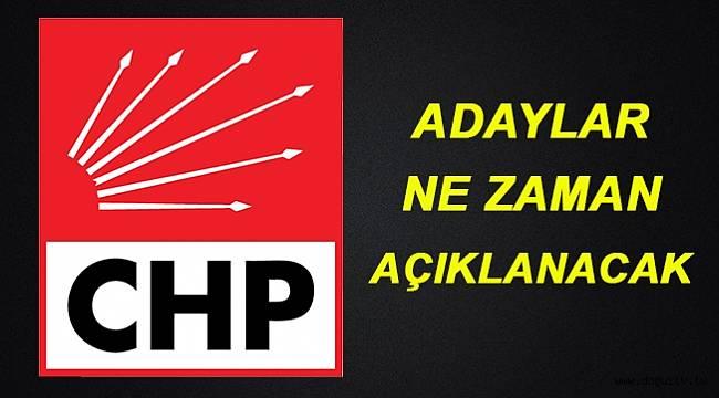 CHP, büyükşehir adaylarını neden duyurmadı?