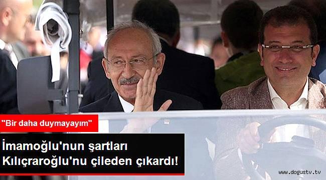 CHP'de Gözlerin Çevrildiği İsmin 3 Şartı Kılıçdaroğlu'nu Çileden Çıkardı!