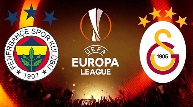 UEFA'da Fenerbahçe ve Galatasaray'ın rakibi belli oldu!