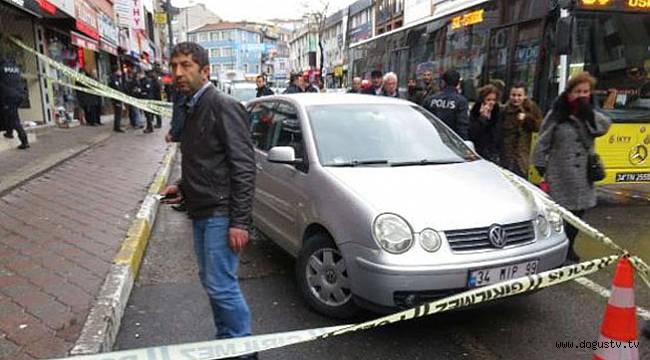 Üsküdar'da silahlı saldırı!