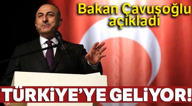 Bakan Çavuşoğlu açıkladı: James Jeffrey Türkiye'ye geliyor