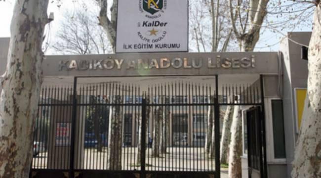 Kadıköy Anadolu Lisesi'nde görüntülü skandal!