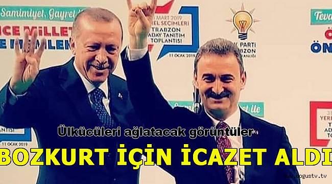 MHP'li başkan bozkurt işareti için Erdoğan'dan izin aldı!