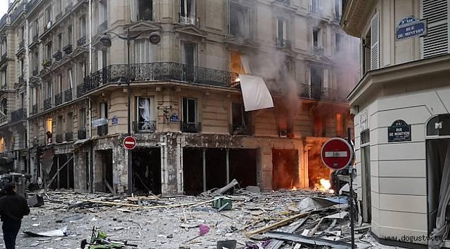 Son Dakika... Paris'te patlama meydana geldi !