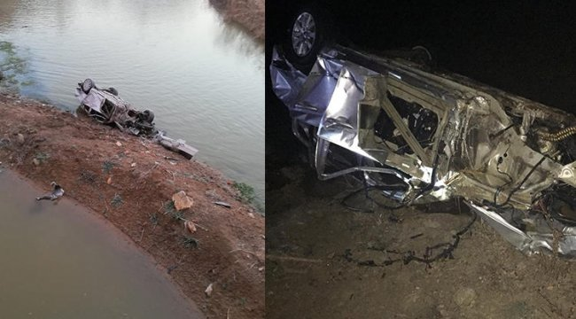 Denizli'de otomobil nehre uçtu... Çok sayıda ölü ve yaralı var