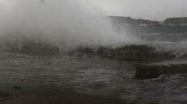 Ege Denizi'nde kuvvetli fırtına uyarısı