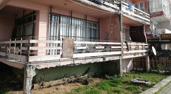 Görenlerin kanı donuyor ama İstanbul'daki bu apartmanda tam 8 aile yaşıyor
