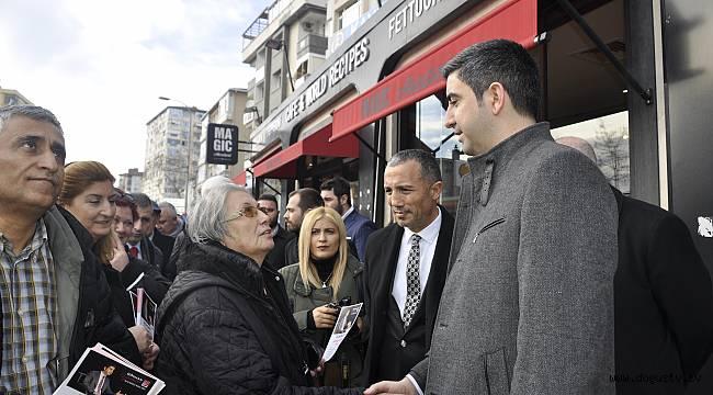 İstanbul'un En Genç Belediye Başkan Adayı Gökhan Yüksel Saha Çalışmalarına Başladı!