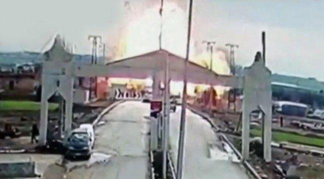 Son dakika: Çobanbeyli sınır kapısının Suriye tarafında patlama
