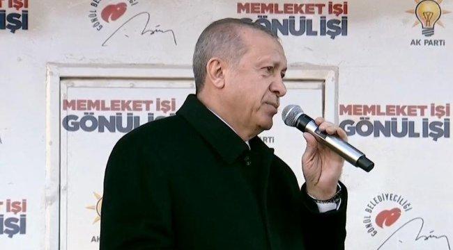 Son dakika! Cumhurbaşkanı Erdoğan Çorum'da konuştu