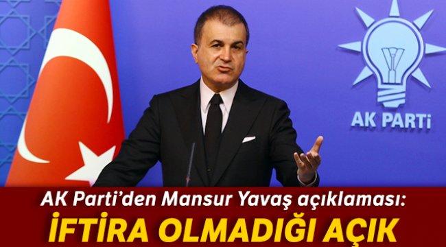 AK Parti'den Mansur Yavaş açıklaması: İftira olmadığı açık