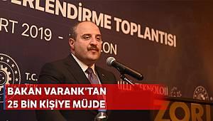 Bakan Varank: 'Yatırım Adası 25 bin vatandaşımıza iş oluşturabilecek'