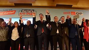 CHP Kartal Belediye Başkan Adayı Gökhan Yüksel, Kartal'a artı değer katacak projelerini açıkladı