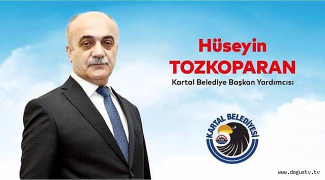 Hüseyin Tozkoparan, Kartal Belediyesi Başkan Yardımcılığı Görevinde....