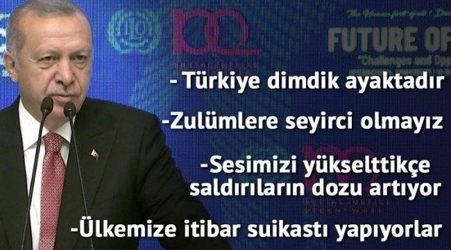 Son dakika! Cumhurbaşkanı Erdoğan: YSK noktayı koyduğu zaman bizim için de mesele bitmiştir
