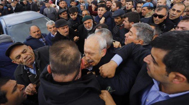 Son dakika: Şehit cenazesinde Kılıçdaroğlu'na saldırı