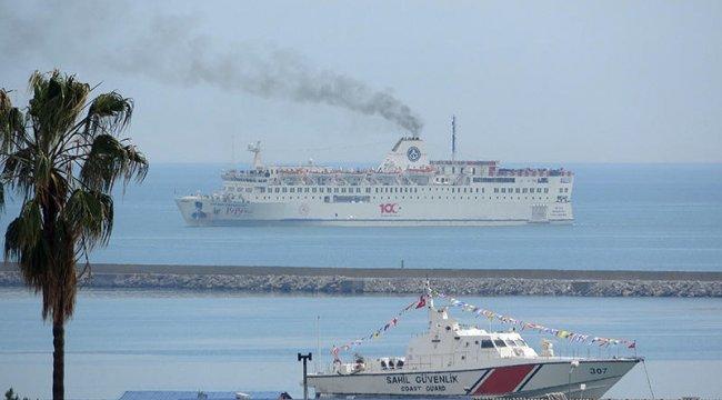 İstanbul'dan yola çıkan gemi Samsun'a ulaştı
