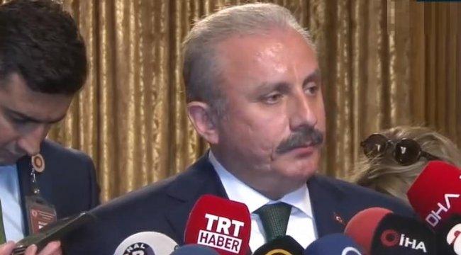 TBMM Başkanı Şentop'tan TBMM'deki terör eylemi girişimi ile ilgili açıklama