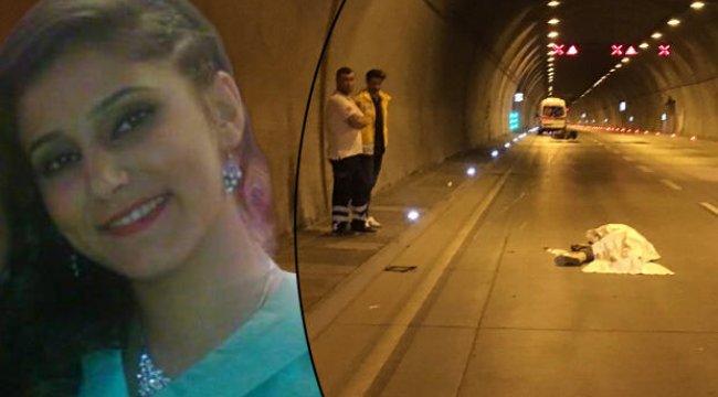 Dolmabahçe Tüneli'nde feci kaza... Metrelerce sürüklenen Buse hayatını kaybetti