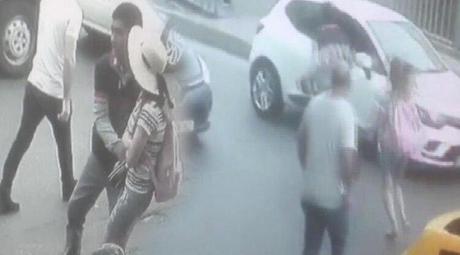 Fatih'te kapkaç kovalamacası kamerada