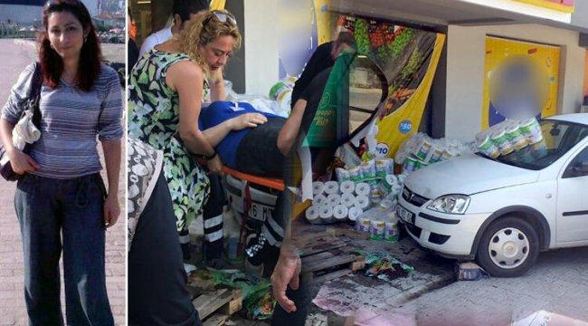 Reyon görevlisi kadının akıl almaz ölümü