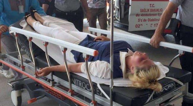 Anne - kız, eski gelinlerini hastanelik etti