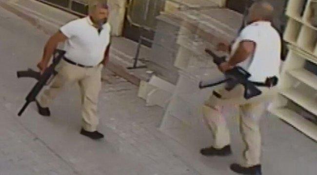 Konya'da dehşete düşüren görüntü! Elinde ve belinde silahla...
