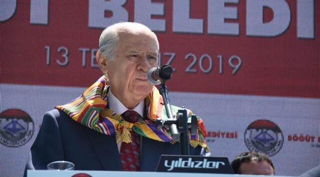 MHP lideri Bahçeli: Cumhurbaşkanlığı Hükümet Sistemi, cumhurla cumhuriyeti kucaklaştırmıştır