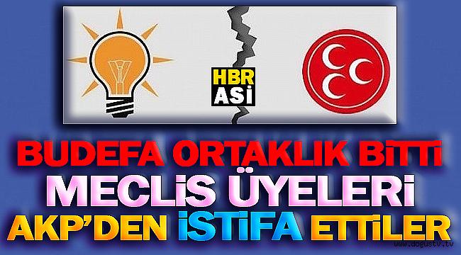 SONDAKİKA: Cumhur İttifakı Bitti ! Meclis Üyeleri AKP'den İSTİFA Ettiler