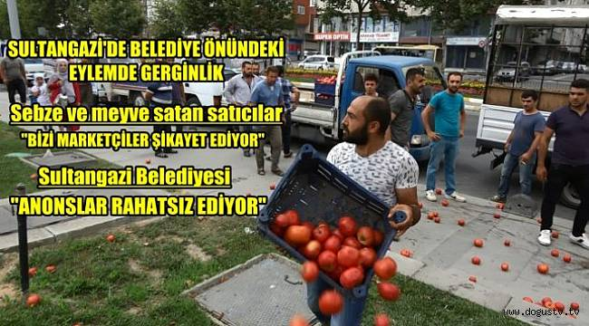 SONDAKİKA: İstanbul'da Belediye Önünde Eylem | 20 kişi gözaltına alındı
