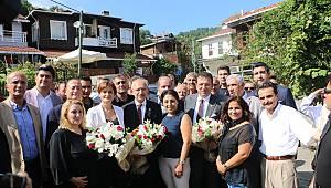 Başkan Gökhan Yüksel, Kılıçdaroğlu ile Akman ailesinin mutluluğuna ortak oldu